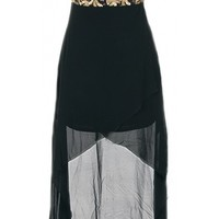High Low Sequin Dress - Kely Clothing
