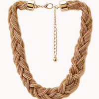 Braided Box Chain Necklace