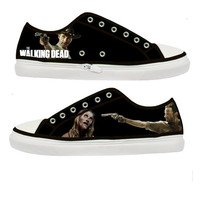 The Walking Dead Rick Grimes shoot Zombie woman shoes - Size : US 5 6 7 8 9 EUR 36 37 38 39 40