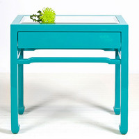 Nightright Side Table in Turquoise